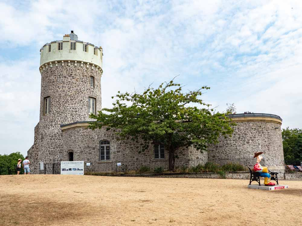 Top attractions in Bristol: Clifton Observatory