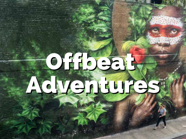 Wayfaring Views Offbeat Adventures street art scene