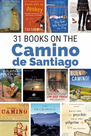 31 Great reads for the Camino. These Camino de Santaigo books will give you inspiration stories and practical advice. #hiking in #Spain