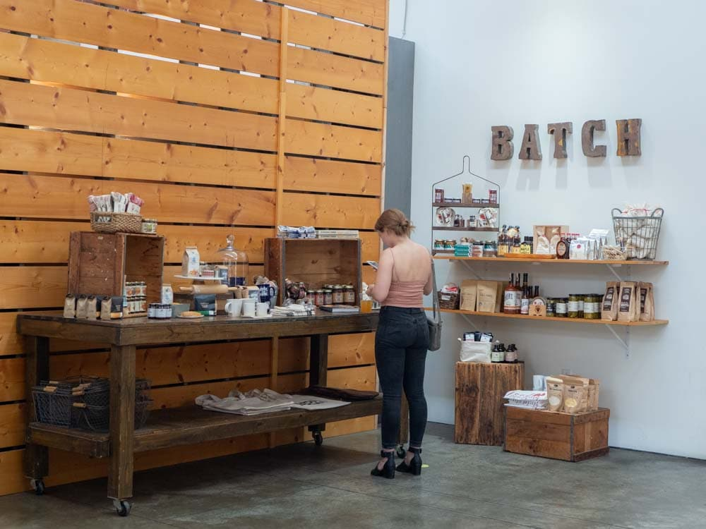 Nashville weekend: Batch Store at the Farmer's Market