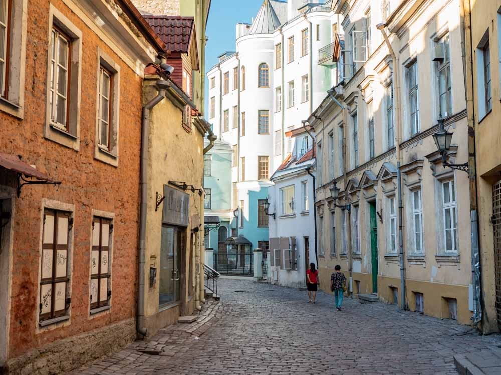 Best things to do in Tallinn: wandering old town narrow streets
