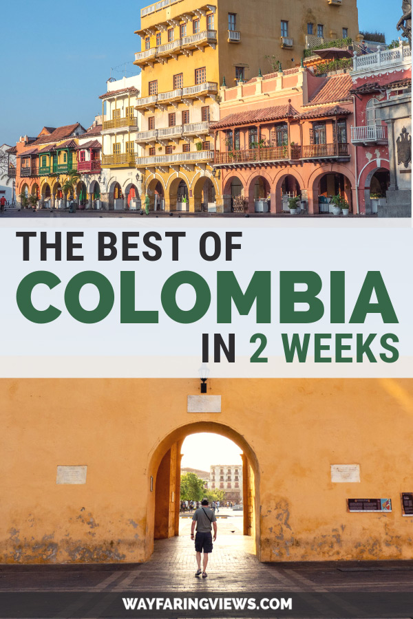 Explore the best of Colombia: two week itinerary