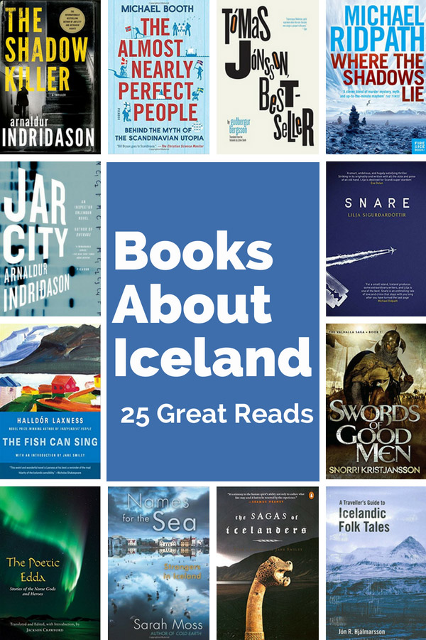 Best Books on Iceland. with book covers