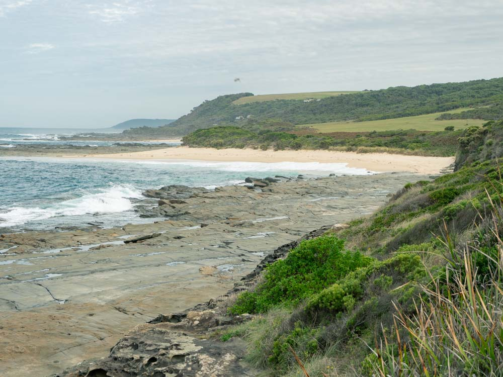 Elliot River Addis Coastal Reserve Storm Point Apollo Bay Australia. Beach and dunes