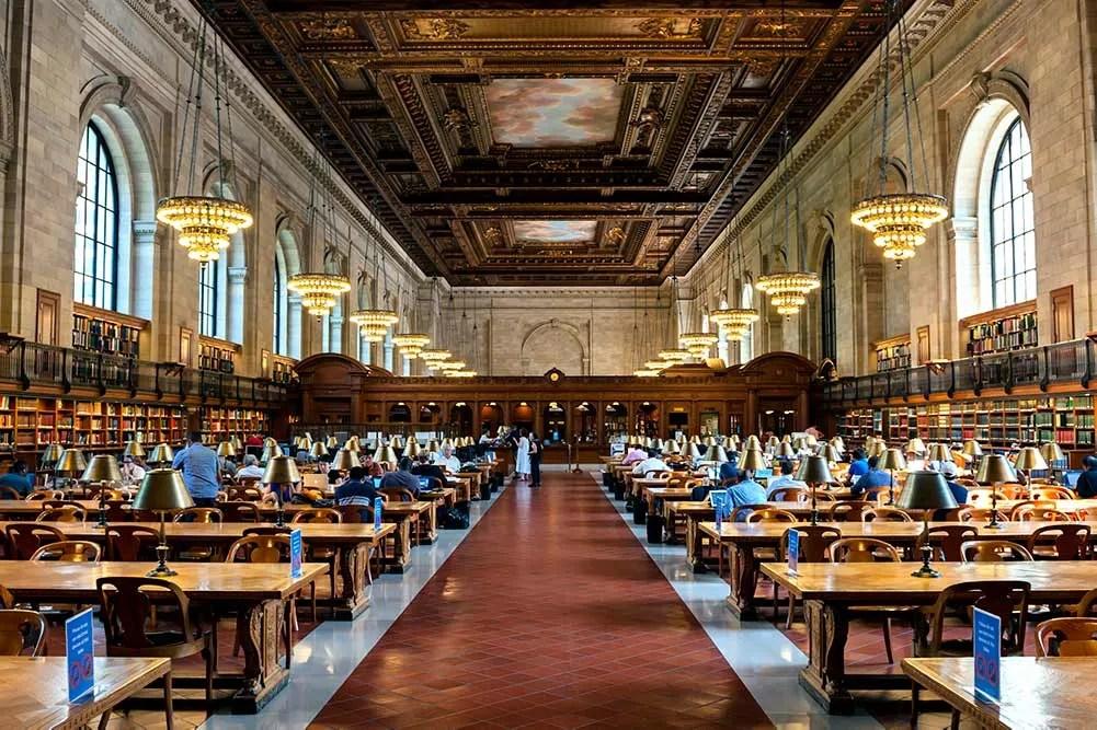 New York Mid-Manhattan branch library bryant park