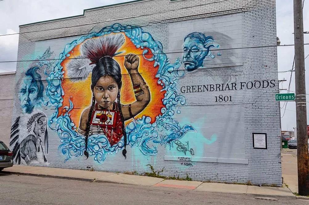 Detroit Eastern Market Mural sintex