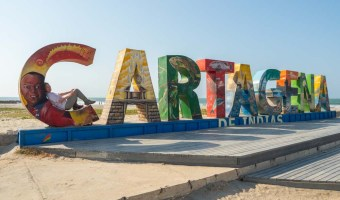 Cartagena in three days- Cartagena sign