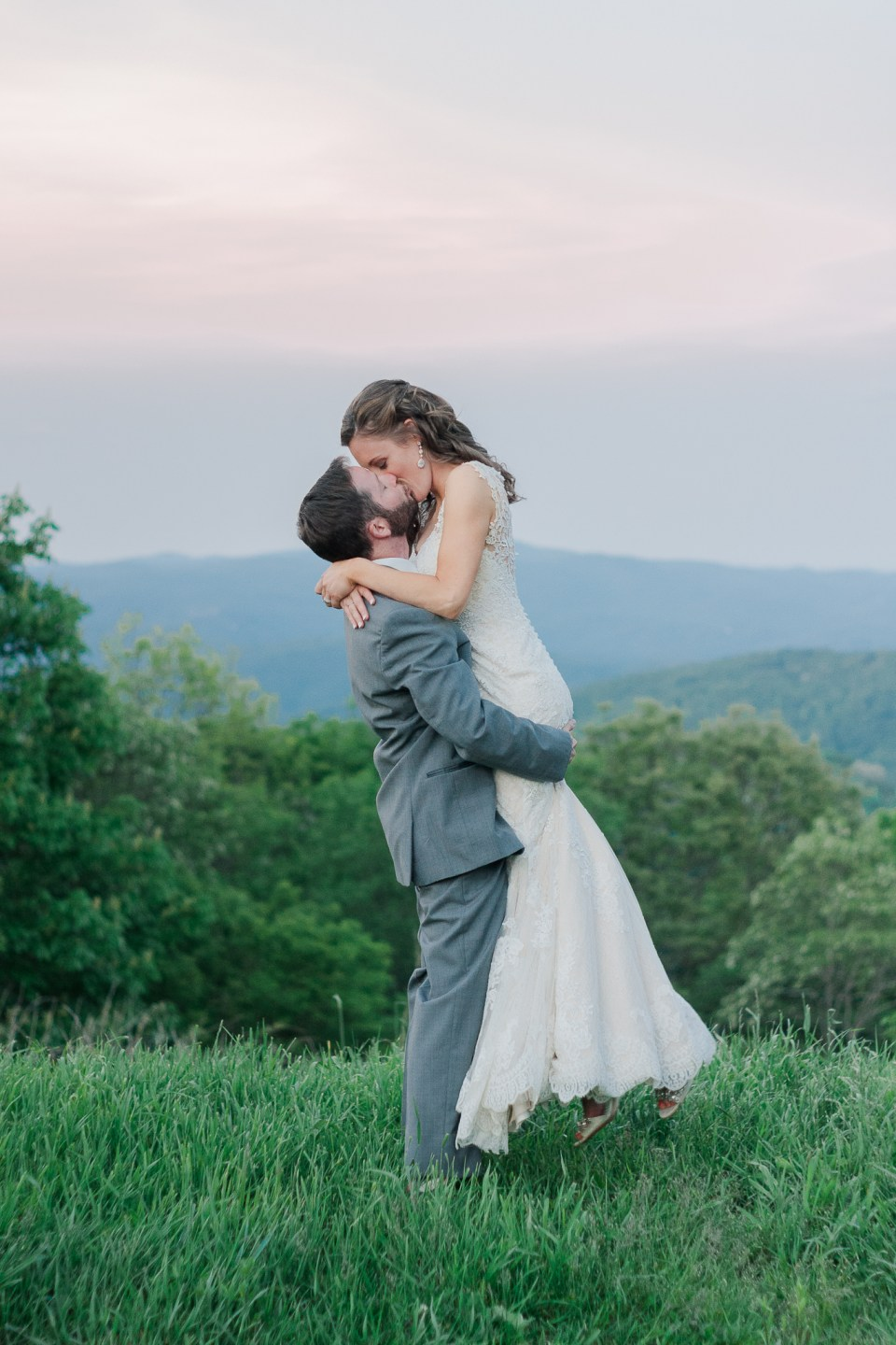 Rustic Overlook Barn Wedding