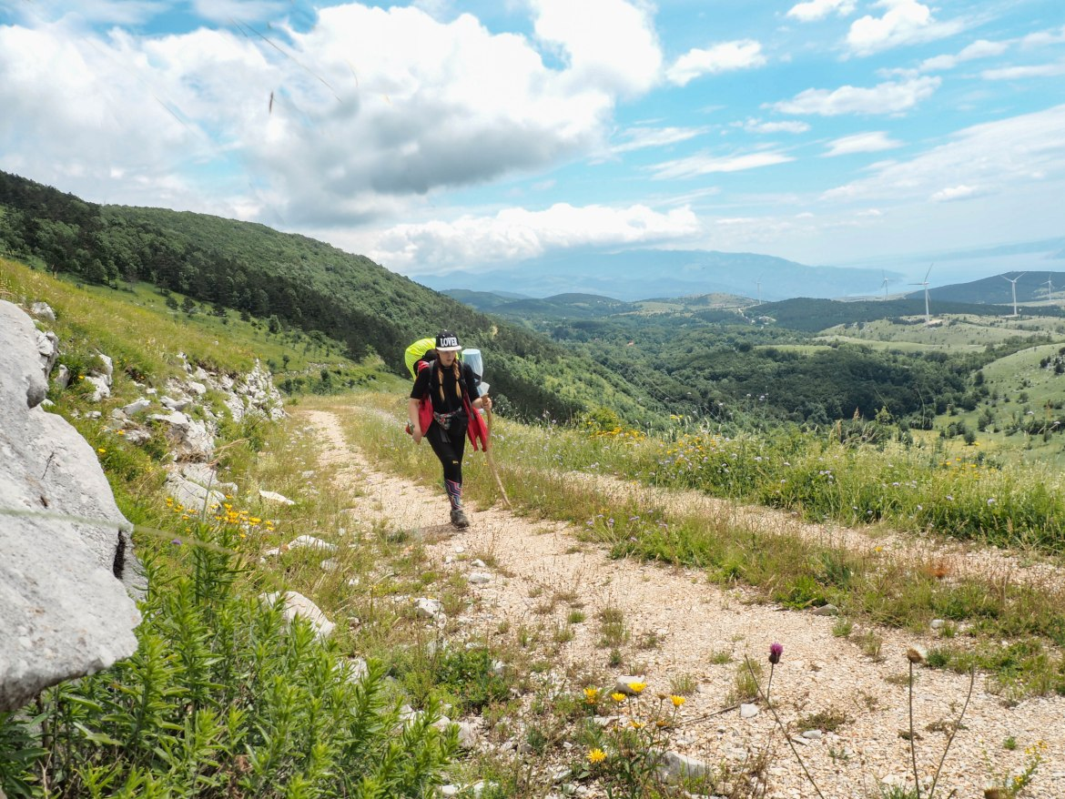 Hiking the Balkans: Via Dinarica, Croatia, Pt.1
