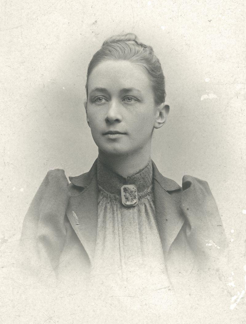 Portrait of the artist Hilma af Klint
