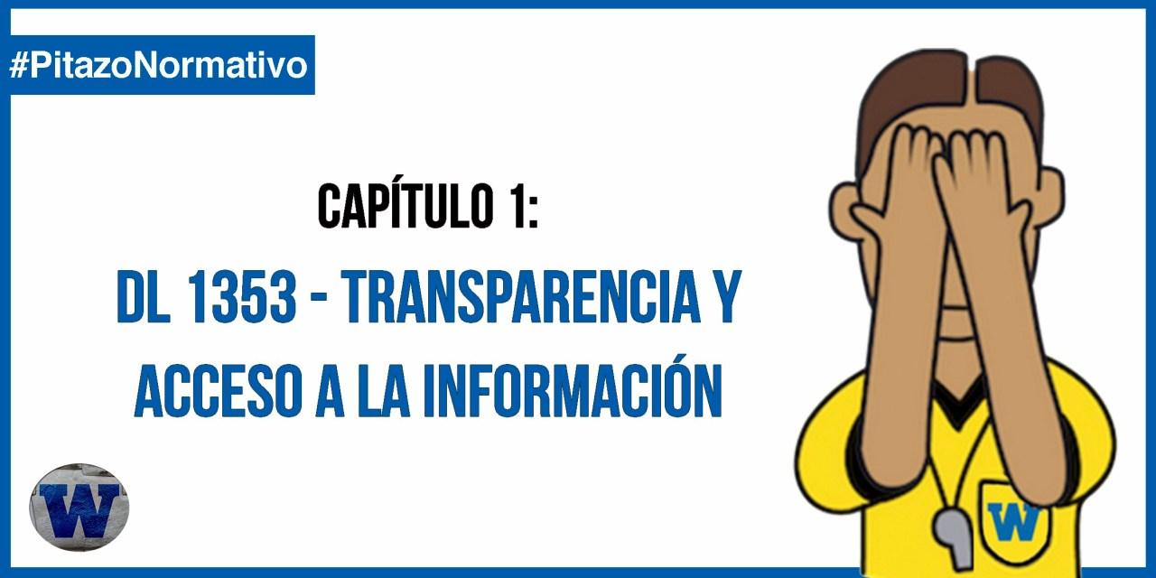 DL 1353 – Se crea Autoridad Nacional de Transparencia y Acceso a Información Pública