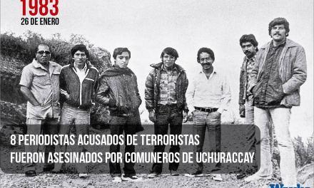 Uchuraccay hace 34 años: los periodistas que fueron confundidos con terroristas