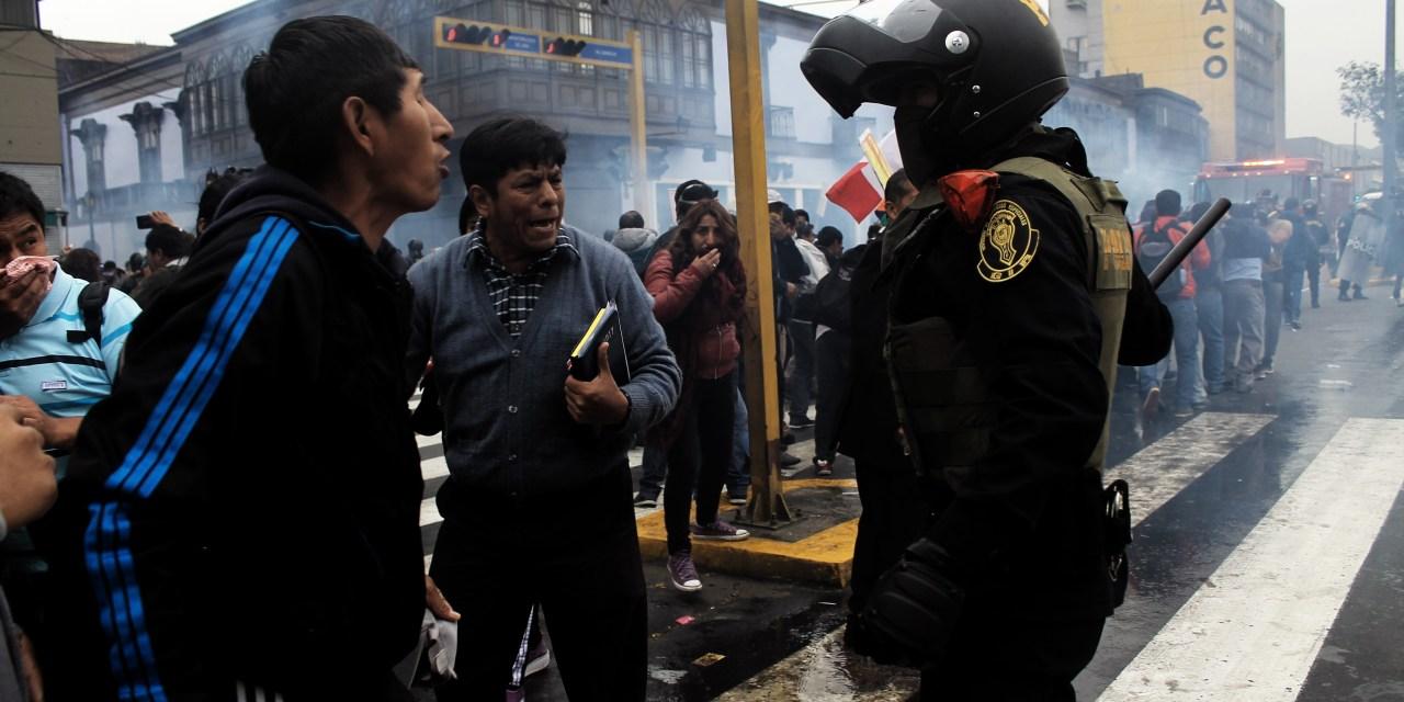 [Fotogalería] Docentes no retroceden y continúan con la huelga