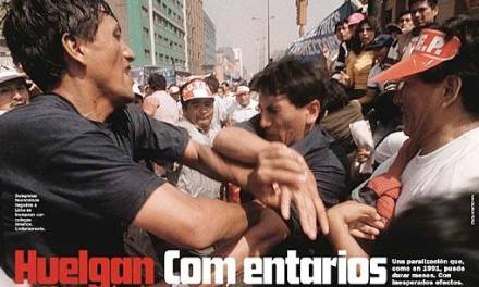 ¿Cómo fue la huelga magisterial con Fujimori?