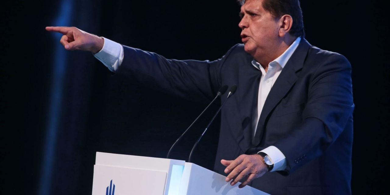 Las millonarias conferencias de Alan García