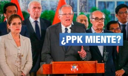 Las 2 dudosas afirmaciones del mensaje a la nación de PPK
