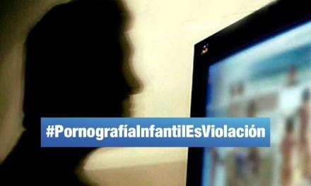 Promueven campaña en redes por caso de pornografía infantil