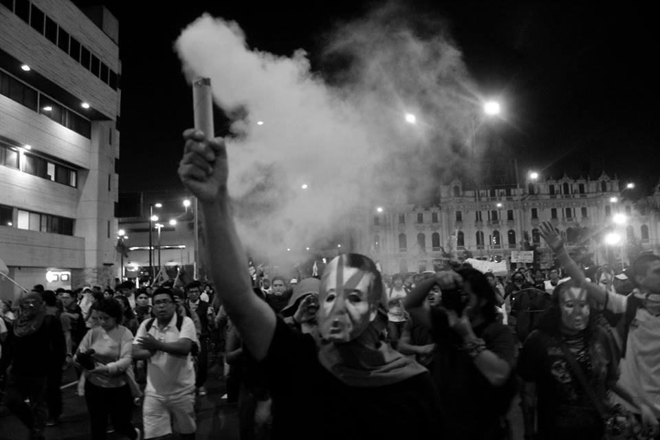 5ta marcha contra el indulto a Fujimori #30E #IndultoEsInsulto