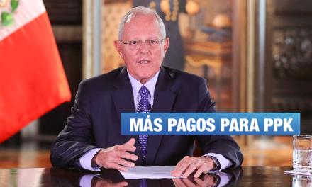 Sepúlveda revela pago de $720 mil a PPK por Rutas de Lima