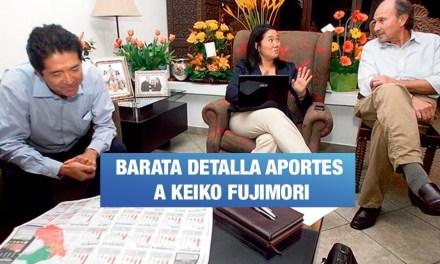 Jorge Barata sigue confesando sobre los vínculos con Fuerza Popular