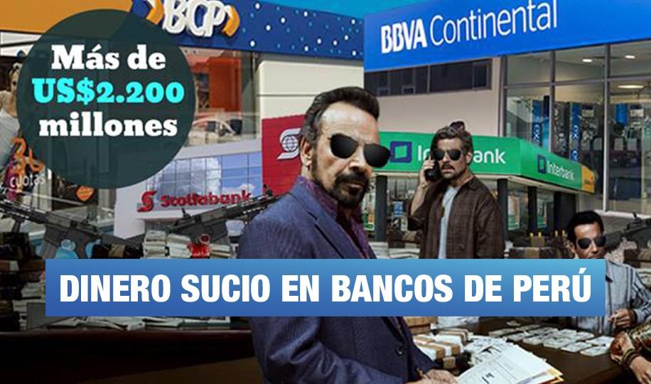 Bancos recibieron US$2.200 millones de clientes sospechosos