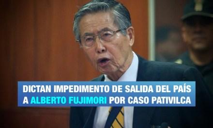 PJ ordena impedimento de salida del país a Alberto Fujimori