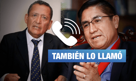 Exministro fujimorista y deudor del Estado Absalón Vásquez también buscó a Hinostroza