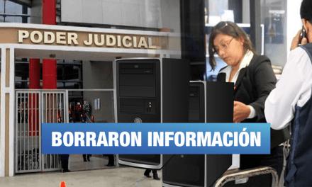 Jueces y personal de confianza de cortes del Callao y Lima Sur 'desaparecieron' información clave