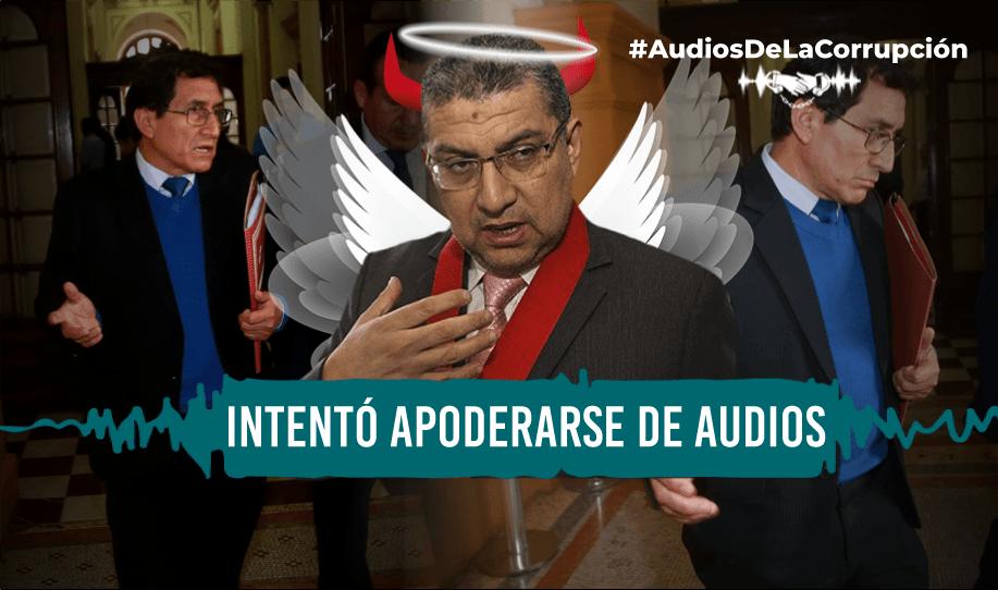 Audios confirman que Ríos sacó a juez que ordenó escuchas a la mafia