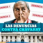 4 denuncias contra chávarry duermen en el Congreso