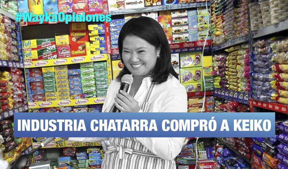 Korrupción con la gran industria de comida chatarra, por Pedro Francke