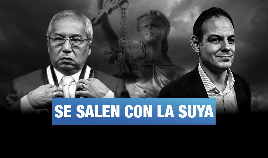 Pedro Chávarry y Mark Vito favorecidos por Congreso y Poder Judicial