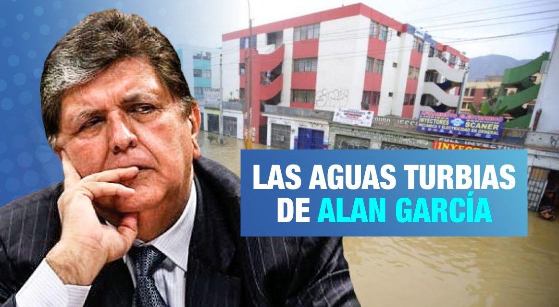 Alan García y el aniego en San Juan de Lurigancho