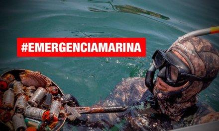#EmergenciaMarina: 12 toneladas de basura solo en mar de Pucusana