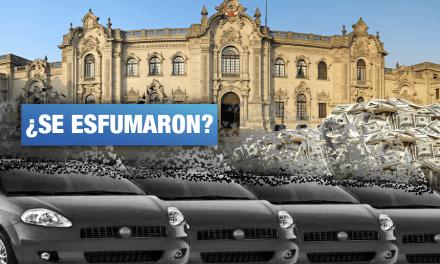 Casi cuatro millones de soles y cuatro vehículos desaparecieron de Palacio