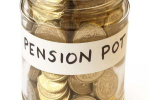 Savings for pension collected in jam jar-1744280