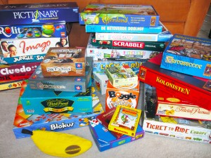 Drop-in Family Board Games @ Wayland Library