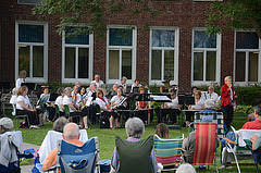 Outdoor Community Concert: Sudbury Valley New Horizons Band @ Town Building Courtyard