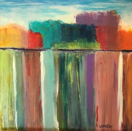 Abstract Landscape 5 by Lois Novotny