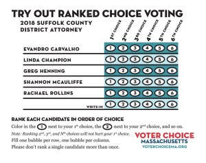 Ranked Choice Voting: A Primer @ Wayland Library