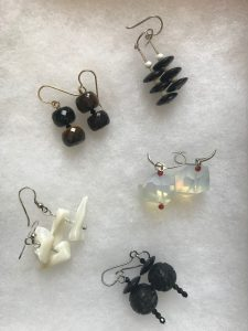 Craft a pair of earrings with Norma Radoff @ Wayland LIbrary