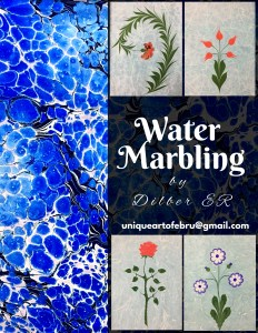 The Art of Ebru: Water Marbling with Dilber Er @ Wayland Library