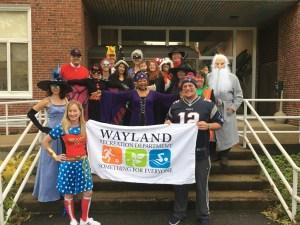 Wayland Halloween Parade @ Wayland Town Building