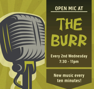 Open Mic at The Burr @ Sandy Burr Country Club