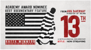 "Special Free Showing of Documentary Film ""13th"" @ Sudbury's Goodnow Library (Community Room)"