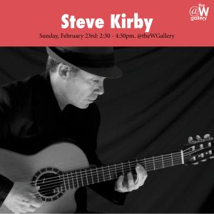 The Steven Kirby Trio @ The W Gallery