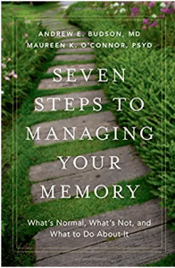 Seven Steps to Managing Your Memory, with Dr. Andrew Budson @ Council on Aging / Zoom