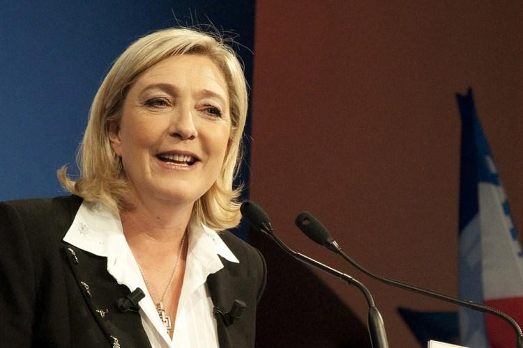 Marine Le Pen/credit: Rémi Noyon