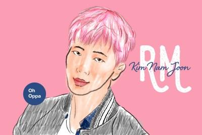 Kim Nam Joon RM BTS คิมนัมจุน