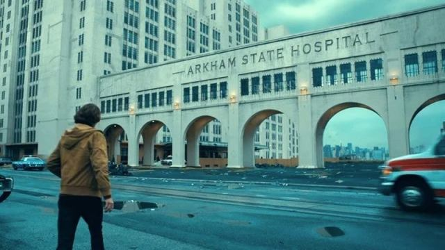 Arkham State Hospital ใน Joker (2019)